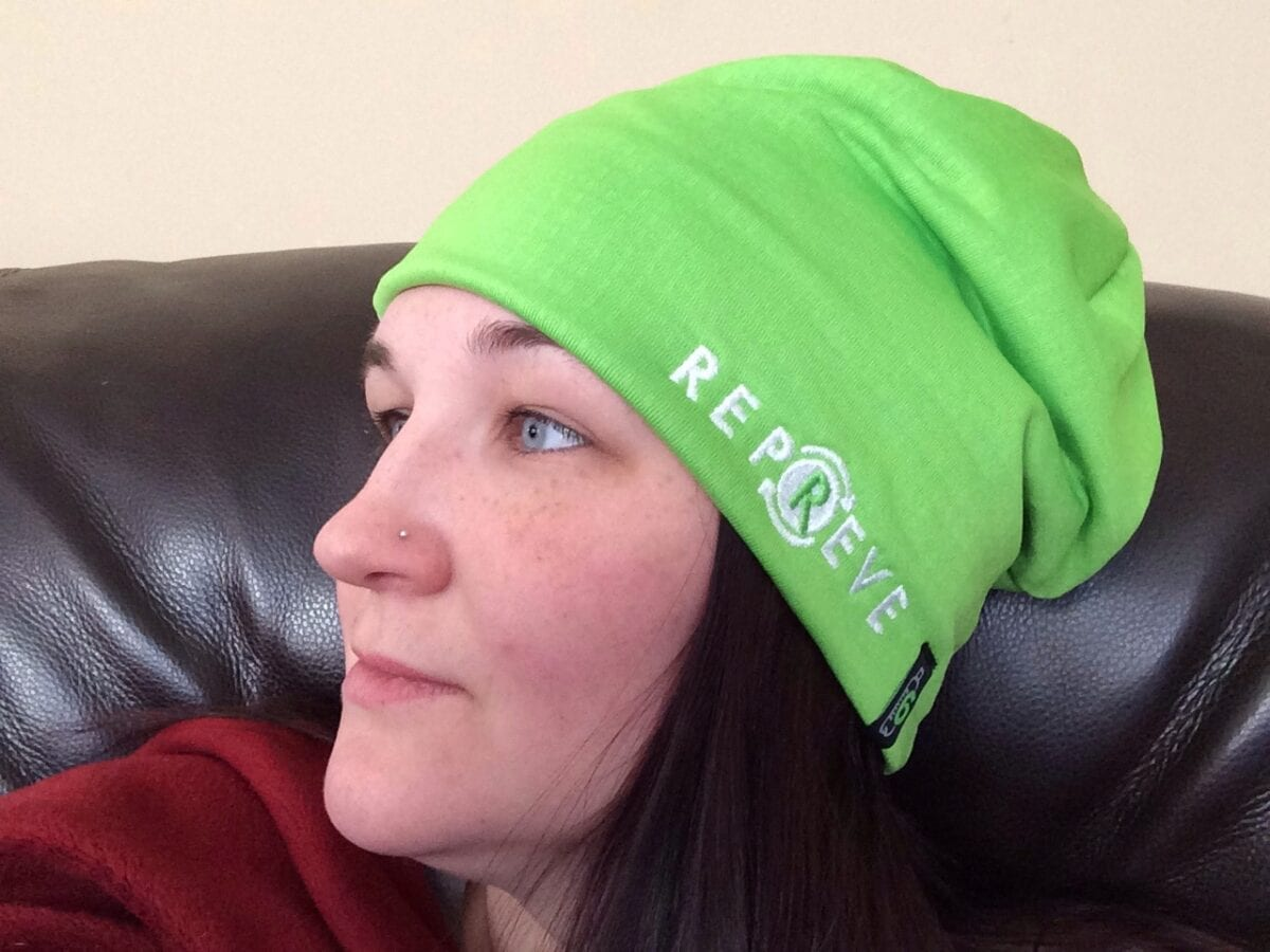 Repreve Recycled Turn It Green Beanie