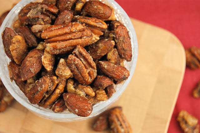 Chai Spiced Mixed Nuts