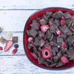 Dark Chocolate Strawberry Chex Party Mix