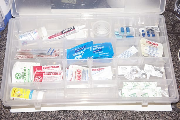 First Aid Storage and Organization