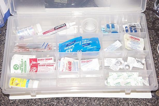 First Aid Storage and Organization