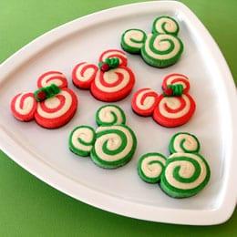 Mickey and Mini Swirl Cookies