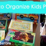 Simple and Cheap Way to Organize Kids Puzzles