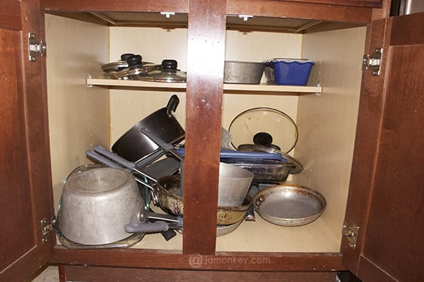 Pots and Pans Before