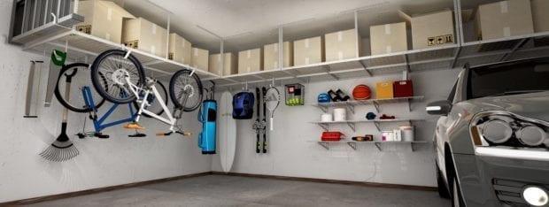 Fleximounts garage storage