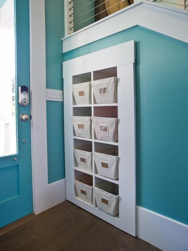 foyer entryway storage