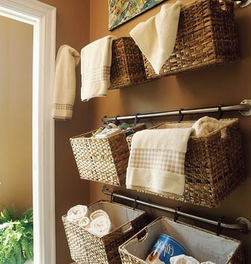 50 organizing ideas for every room in your house jamonkey for Bathroom organization ideas