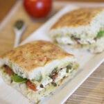 Roasted Tomato and Mozzarella Sandwich - Starbuck Copycat