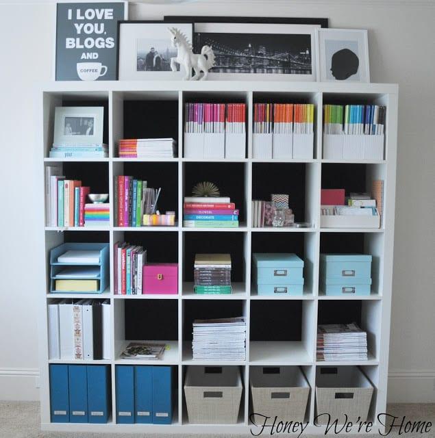 office shelf organization