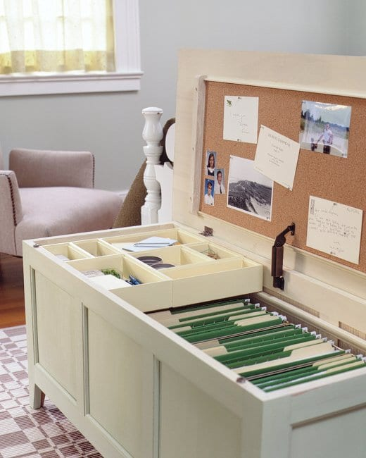 Mini Office in Chest