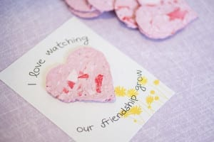 Recycled Seed Paper Heart Valentines