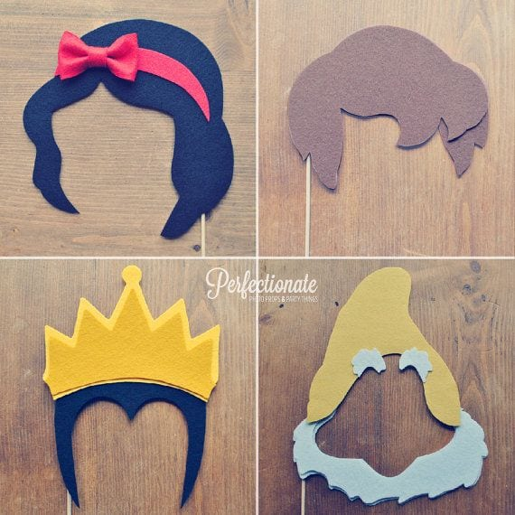 Snow White Photo Props