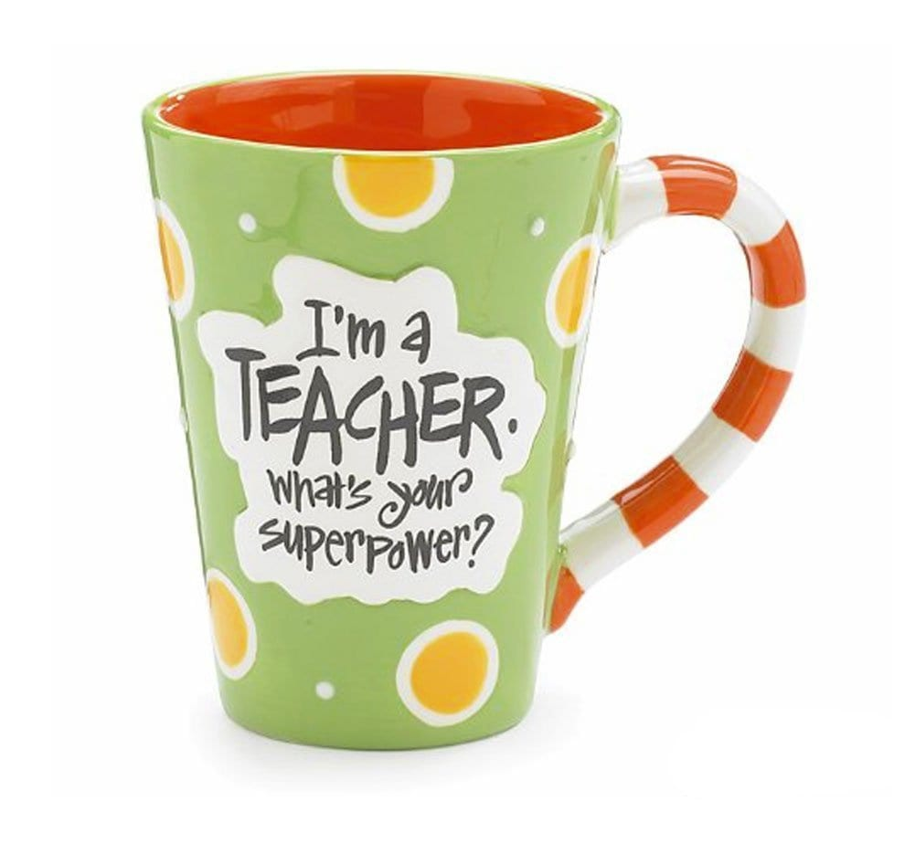Teacher Superpower Mug