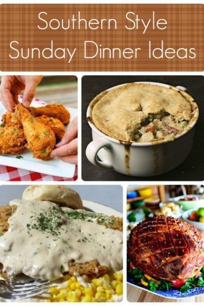 Southern Style Sunday Dinner