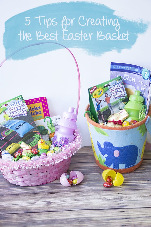 5 tips for creating the best easter basket jamonkey 5 tips for creating the best easter basket negle Choice Image