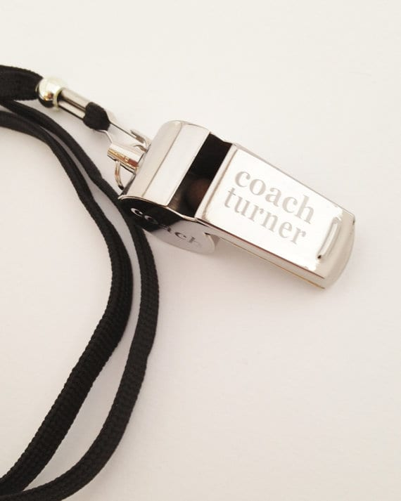 Personalize Coach Whistle