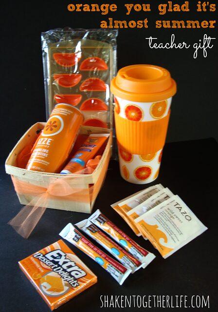 orange you glad its almost summer teacher gift 2