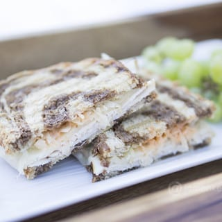 Turkey Rueben Panini