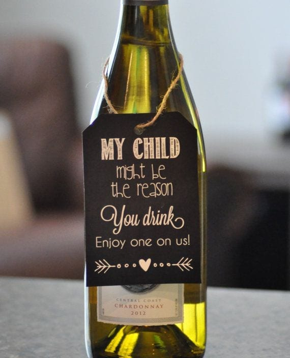 Wine for Teachers gift
