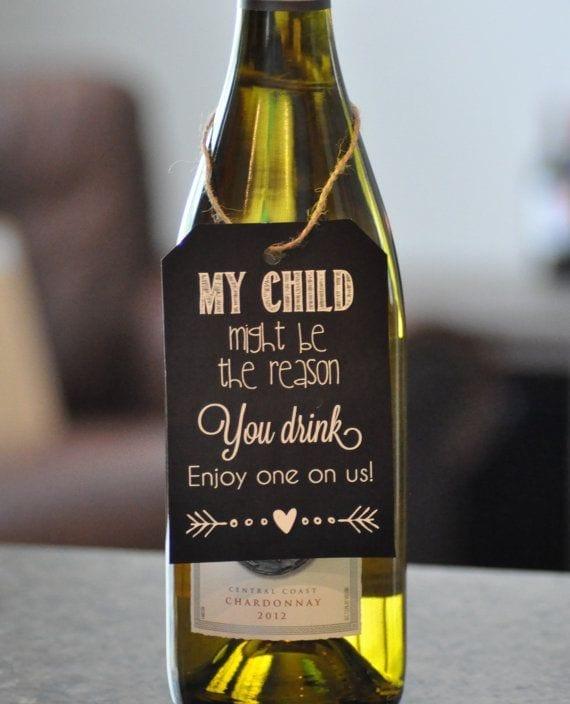 Wine for Teachers gift