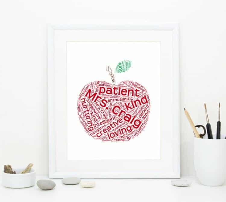 Apple Teacher Art