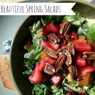 Berry Beautiful Spring Salads