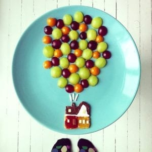Up Food Art