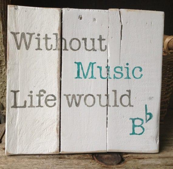 Music Teacher Sign