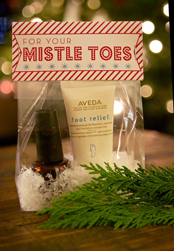 Mistle Toes Teacher Gift