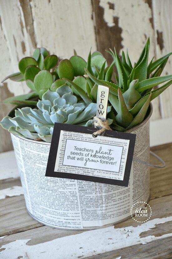 Teacher Gift Garden