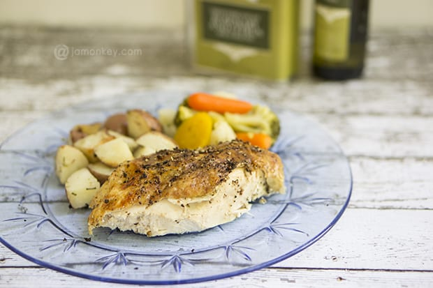 Oven Roasted Rosemary Citrus Chicken