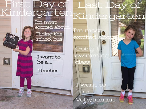 First and Last Day of School