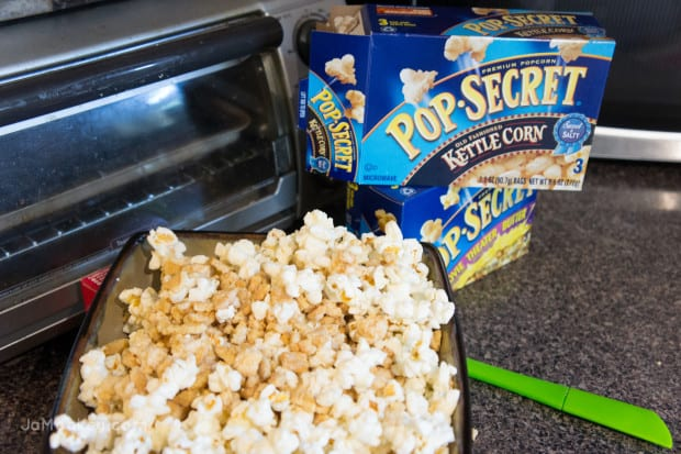 Unforgettable Movie Night and Golden Oreo Popcorn
