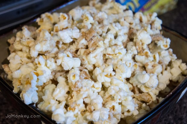 Unforgettable Movie Night and Golden Oreo Popcorn
