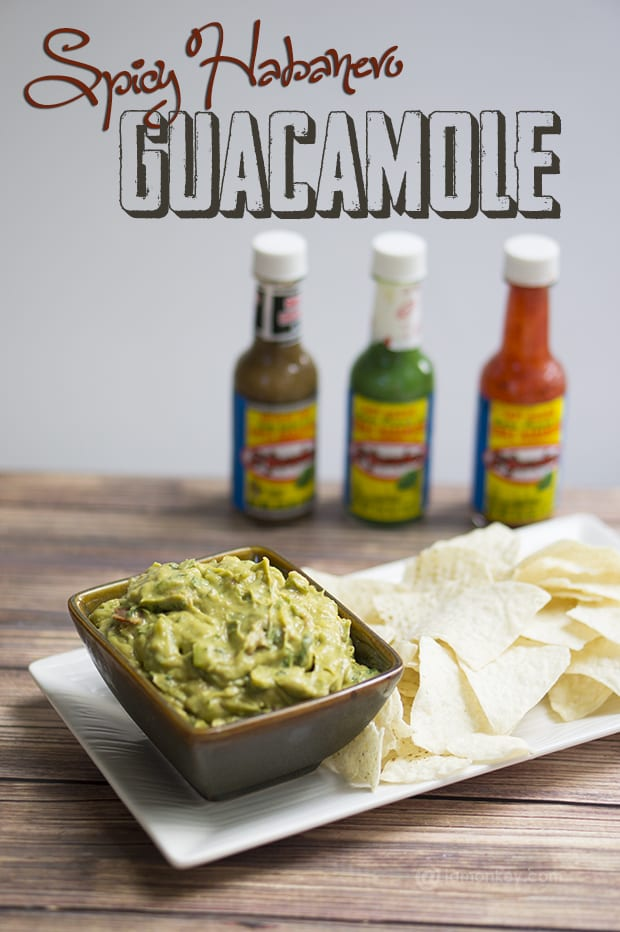 Spicy Habanero Guacamole Recipe
