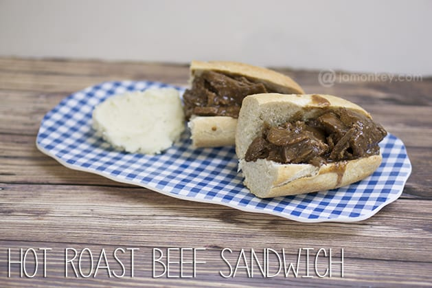 Hot Roast Beef Sandwich