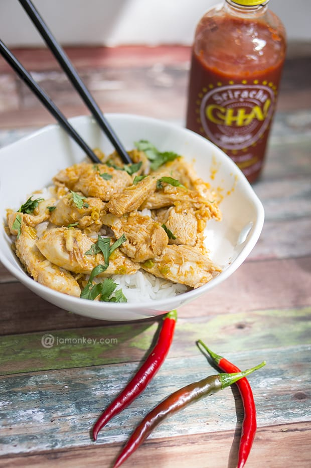 Sriracha Lemongrass Chicken