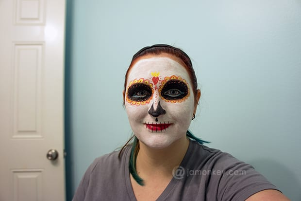 Day of the Dead - Book of Life La Muerte Make-up Tutorial