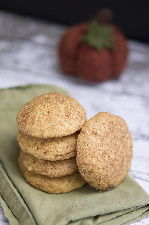Pumpkindoodle Cookies - Pumpkin spice