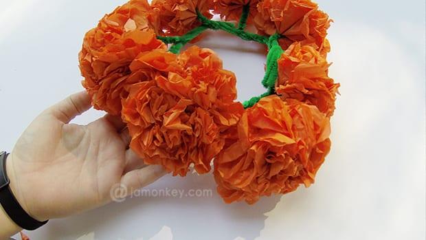 Paper Mexican Marigold Headdress