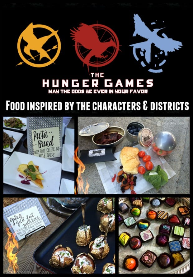 The Hunger Games Inspired Food from characters and Districts