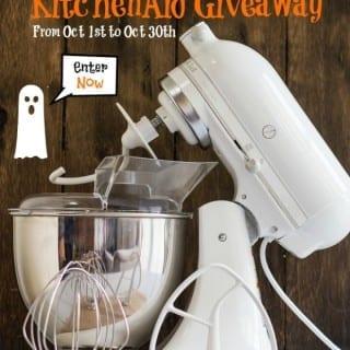 KitchenAid Artisan 5-Quart Mixer Giveaway