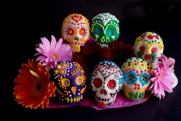 DIY Sugar Skulls for Day of the Dead