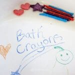 DIY Bath Crayons by Creative Galaxy