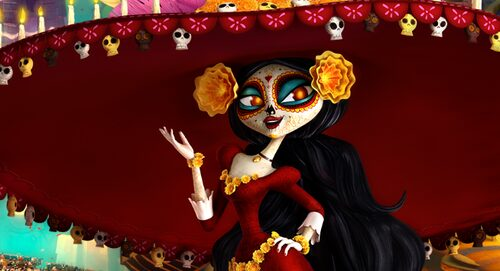Book of Life La Muerte Make Up Tutorial