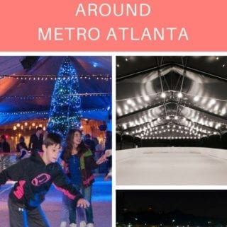Best Outdoor Ice Skating Rinks Around Metro Atlanta
