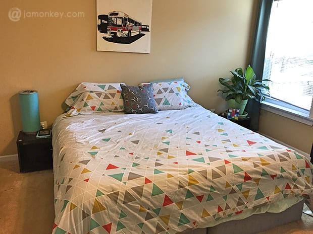 Best  by Novogratz Kaleidoscope Bed in a Bag Bedding Set