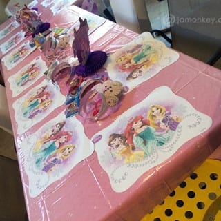 A #DisneyKids Party Fit For A Princess
