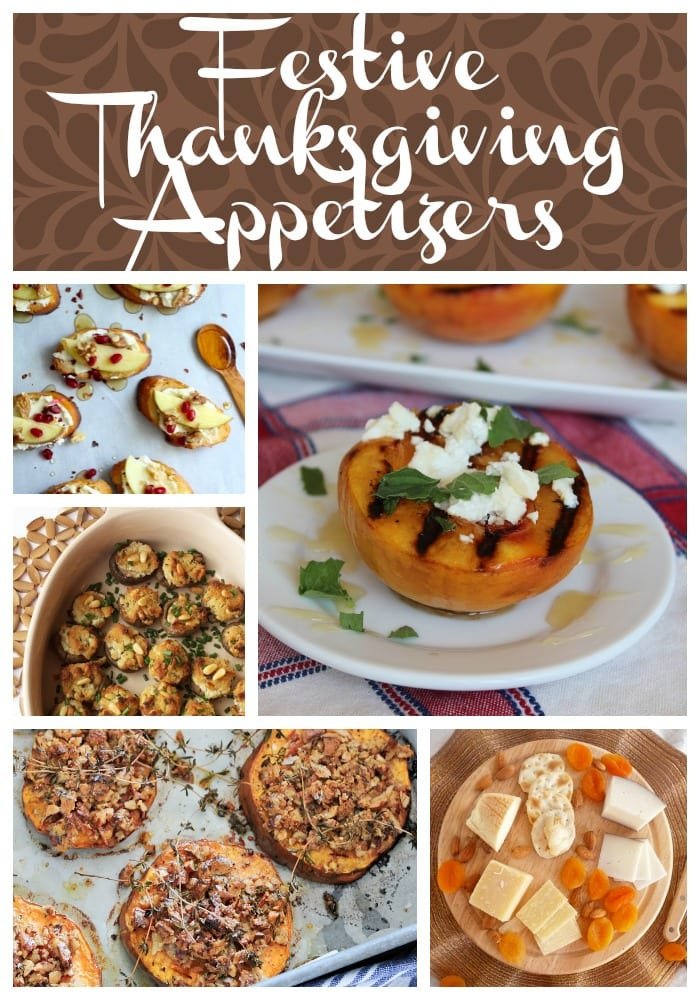 Festive Thanksgiving  Appetizers