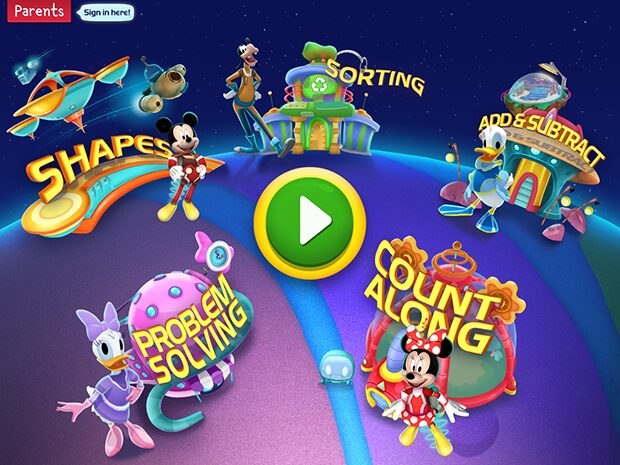 Disney Imagicademy Mickey's Magical Math World